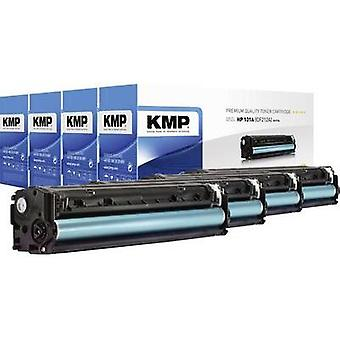 KMP Toner cartridge combo pack replaced HP 131A, 131X, CF210A, CF210X, CF211A, CF212A, CF213