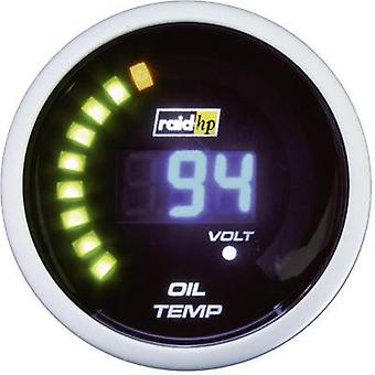 raid hp Oil Temperature Gauge 40 to 150 °C 12V