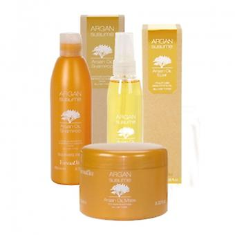 Argan sublime argan oil hair care set