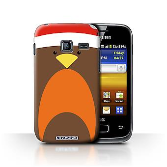 STUFF4 Case/Cover for Samsung Galaxy Y Duos/S6102/Robin/Christmas Character