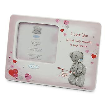 Me to You, Tatty Teddy, I Love You, Pink Picture Frame, 5.5x7.5