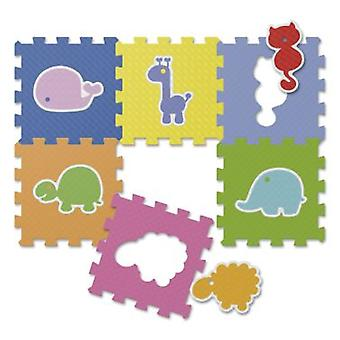 Chicco Puzzle Animals (6pc) (Toys , Preschool , Babies , Playmats & Gyms)