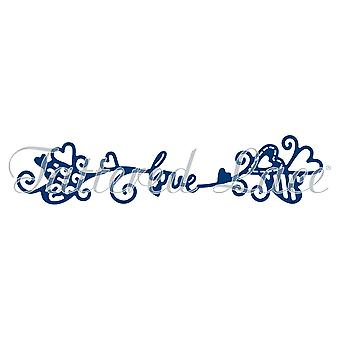 Tattered Lace liefde Swag sterven