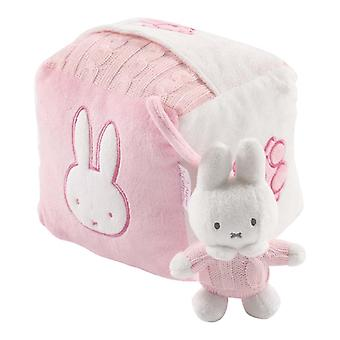 Tiamo Miffy gestrickte Cube rosa