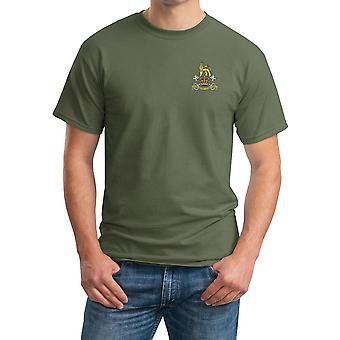 Military Provost Guard Embroidered Logo - Official British Army Cotton T Shirt