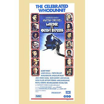 Assassinio sull'Orient Express film Poster (11x17)