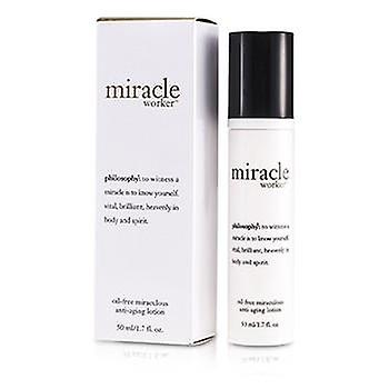 Philosophie Miracle Worker Oil-Free wunderbare Anti-Aging-Lotion - 50 ml / 1,7 Unzen