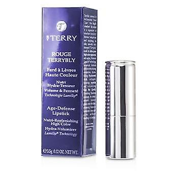 By Terry Rouge Terrybly Age Defense Lipstick - # 302 Hot Cranberry - 3.5g/0.12oz