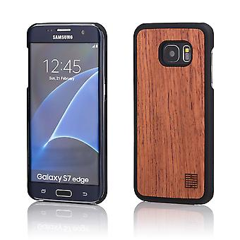32nd Wooden Back case for Samsung Galaxy S7 Edge (SM-G935) - Cherry