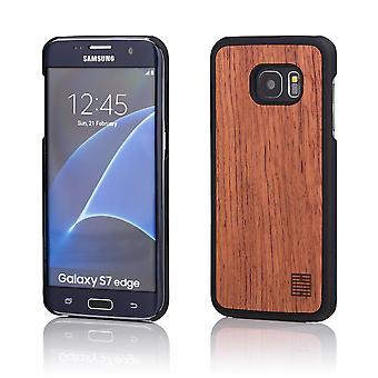 32nd trä tillbaka fallet för Samsung Galaxy S7 Edge (SM-G935) - Cherry