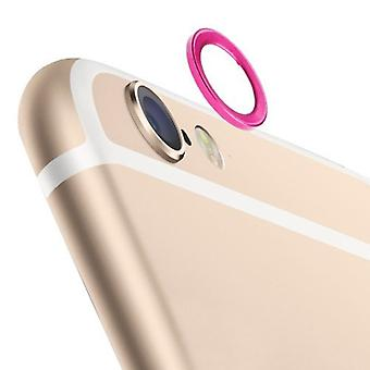 Camera protection protector ring for Apple iPhone 6 plus 5.5 pink