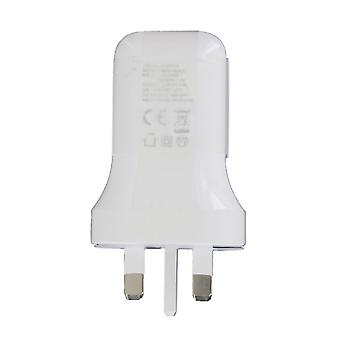 Genuine LG MCS-N04UR 3A 5V Fast Mains Charger USB Type C Adapter White Head Plug for LG G5 / G6 and other Smartphone Devices (Not In Retail Packaging)