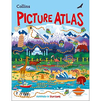 Collins Children's Picture Atlas (Hardcover) by Collins Maps