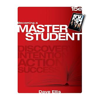Becoming A Master Student (Paperback) by Ellis Dave