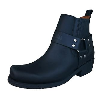 Johnny Bulls Sprinter Womens Leather Chelsea / Ankle Boots - Black