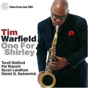 Tim Warfield - en for Shirley [CD] USA importerer