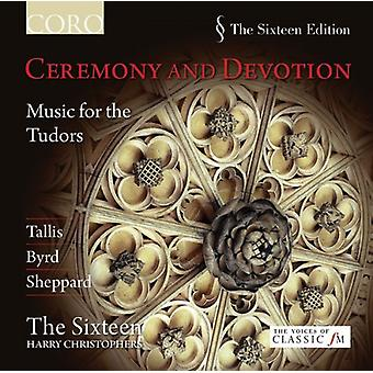 Sixteen/Christophers - Ceremony and Devotion: Music for the Tudors [CD] USA import