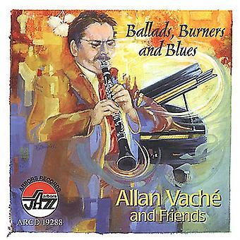 Allan Vache - ballader brændere & Blues [CD] USA import