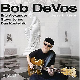 Bob Devos - spiller for holder [CD] USA import