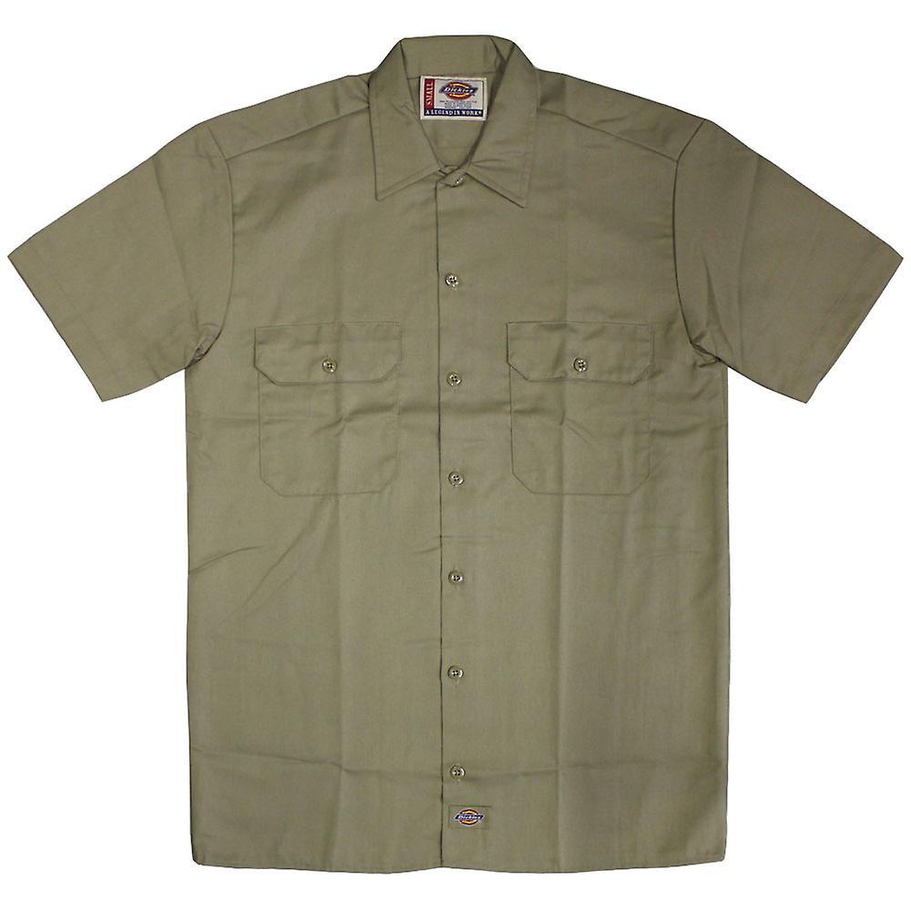Dickies 1574 Kurzarm Arbeit Shirt Khaki