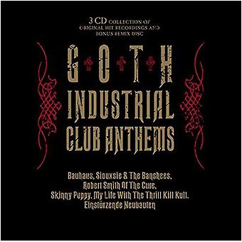 Divers artiste - importation USA Goth Industrial Club Anthems [CD]
