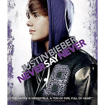 Justin Bieber: Never Say Never [Blu-ray] USA import