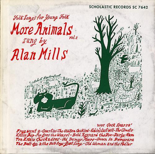 Alan Mills - Alan Mills: Vol. 2-More Animals [CD] USA import