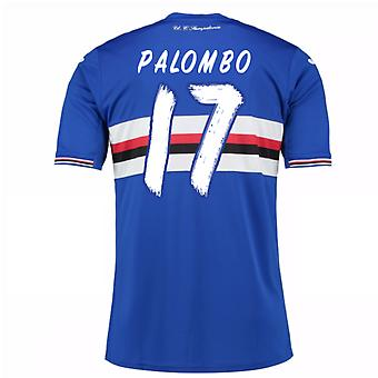 2016 / 17 Sampdoria Home Shirt (Palombo 17) - Kinder