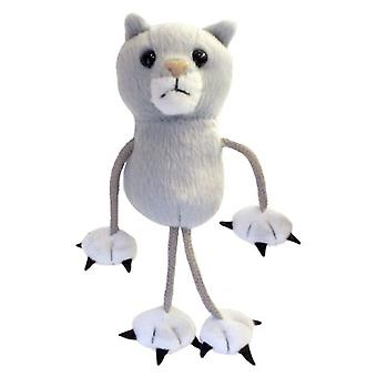The Puppet Company Fingers Gray Cat Puppets (Toys , Preschool , Theatre And Puppets)