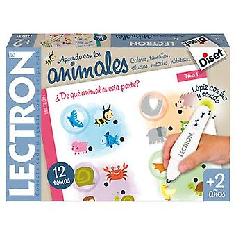 Diset Lectron Pencil Baby Animals (Toys , Educative And Creative , Science And Nature)