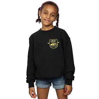 Disney Girls Cars Cruz Ramirez Faux Pocket Logo Sweatshirt