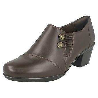 Ladies Clarks Heeled sko Emslie Warren