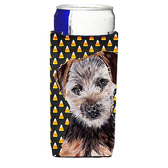 Norfolk Terrier cachorro Candy maíz Halloween Ultra bebidas aisladores para slim ca