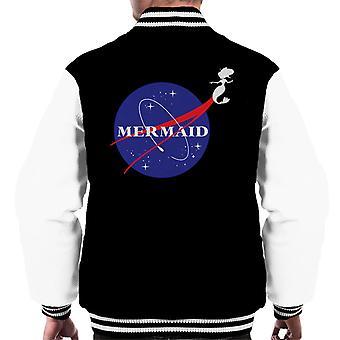 Sirena la NASA Logo Varsity chaqueta de