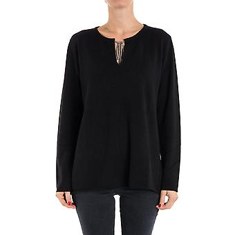 Hemisphere women's 1721319PR4999 black cashmere sweater
