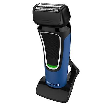 Remington Comfort Series Aqua Waterproof 2 hr Charge Foil Shaver Blue/Black