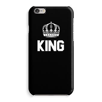 iPhone 6 / 6S Full Print Case (Glossy) - King black
