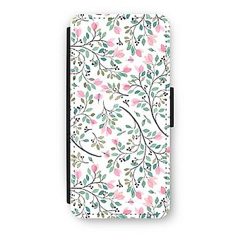 iPhone 5C Flip Case - fiori delicati
