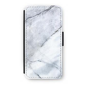 Samsung Galaxy S8 Plus Flip Case - Marble white