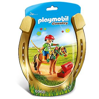 Paese di Playmobil Groomer con Bloom Pony 6968