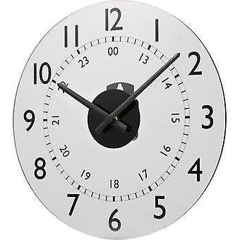 Quartz Wall clock Renkforce W784P-NP 30.5 cm x 3.5 cm White