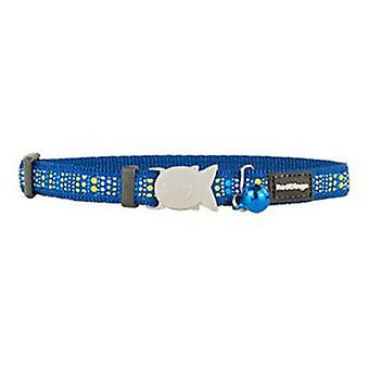 Red Dingo Cat Collar Lotzadotz Dark Blue  (Cats , Collars, Leads & Harnesses , Collars)