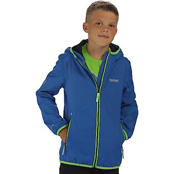 Regatta Boys & Girls Lever II Stretch Waterproof Breathable Jacket