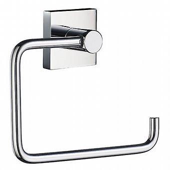 House Toilet Roll Holder - Polished Chrome RK341