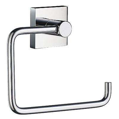 House Toilet Roll Holder - Polished Chrome RK341