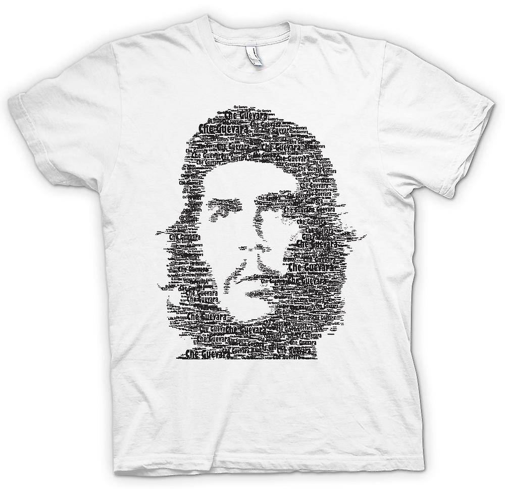 Womens T-shirt - Che Guevara Word Cloud - Cool