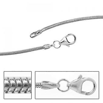 Silver snake chain necklace necklace silver chain 1,3 mm