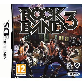 Rockband 3 (Nintendo DS) - Factory Sealed