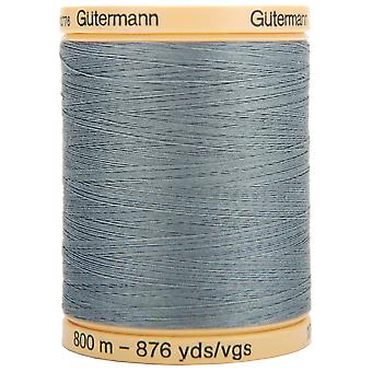 Natural Cotton Thread Solids 876yd-Stormy Grey