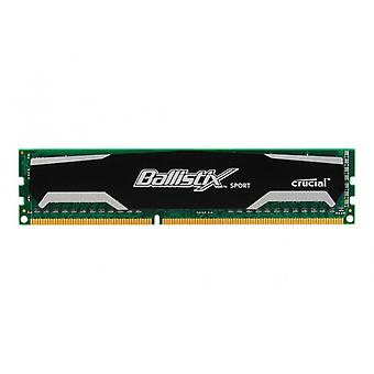 CR Ballistix Sports 4 GB UDIMMS og 1600MT/s, 240, CL9 SR